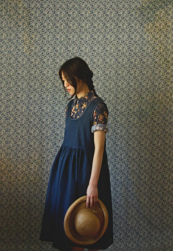 robe-chasuble-longue-à-haute-taille