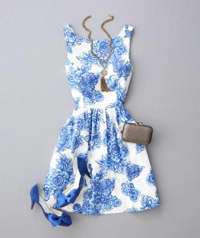 La robe bleue marine et ses nuances en 43 photos - Couleur bleu ou bleue ...