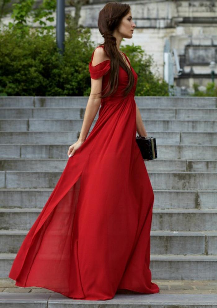 robe-longue-d-été-robes-longues-d-été-chique-élégante-rouge-longue-tenue-de-soirée