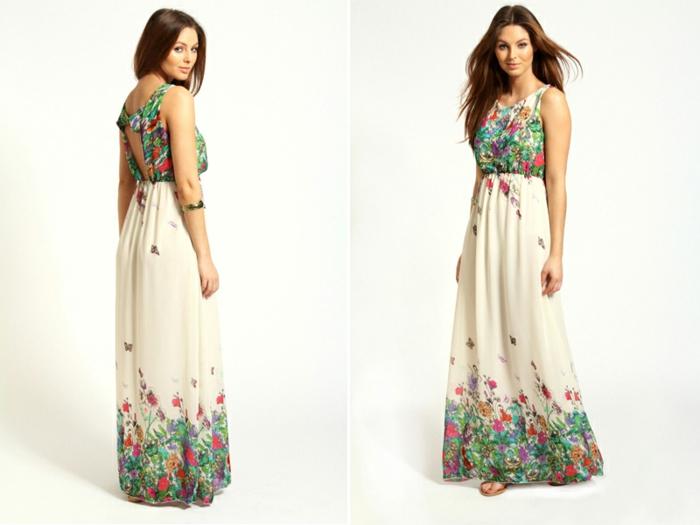 robe-longue-fluide-été-robe-été-mi-longue-fleurs-blanche