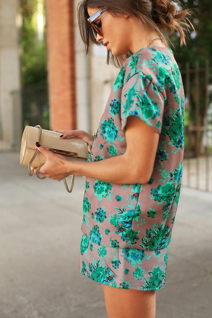 robe-tunique-modèle-élégant