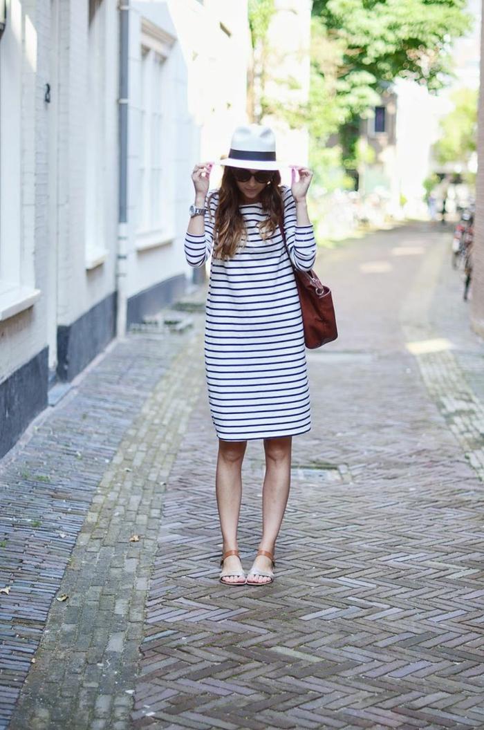 robe-tunique-rayures