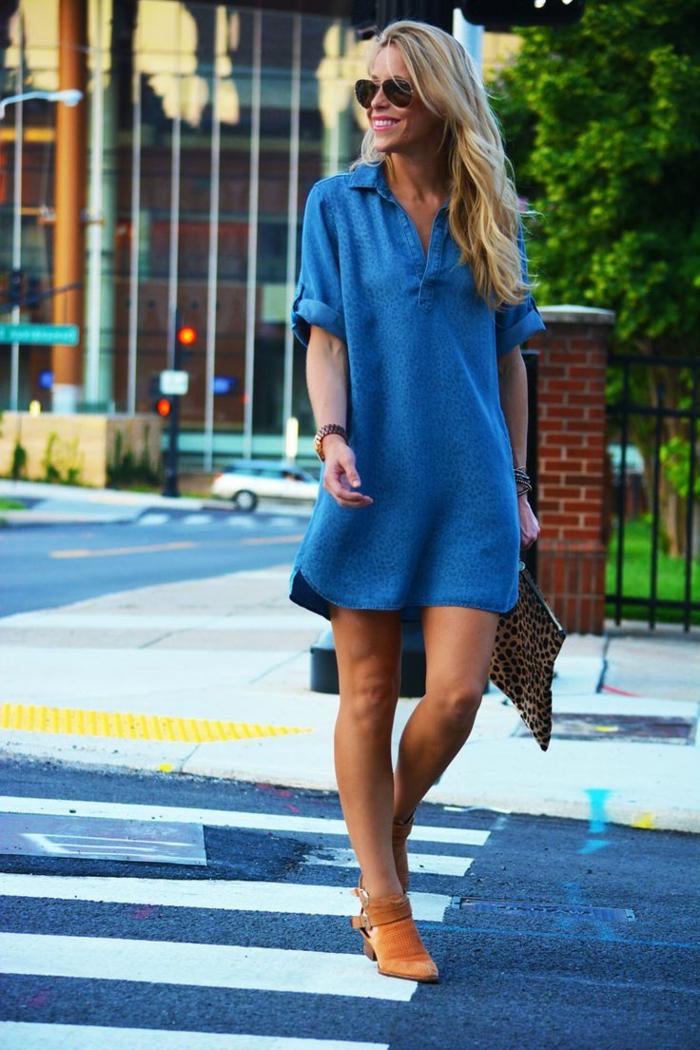 robe-tunique-robe-chemise-bleue