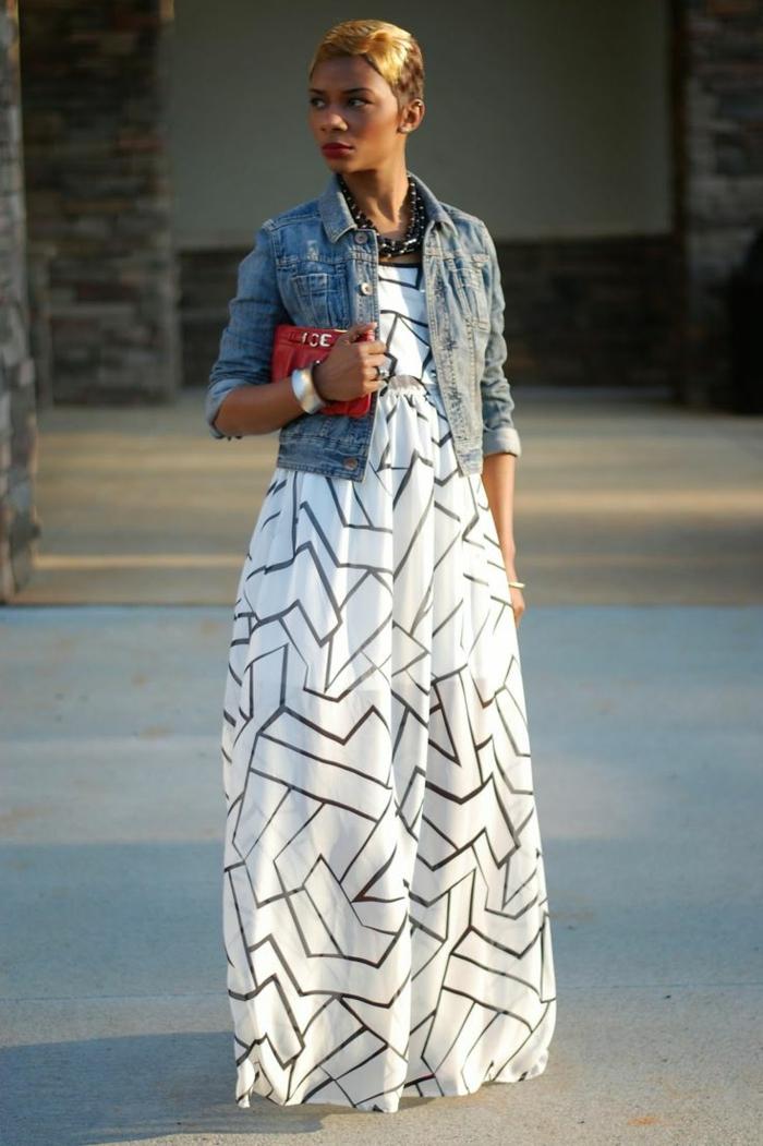 6c5fe919dc3 La robe longue d été - 65 belles variantes - Archzine.fr