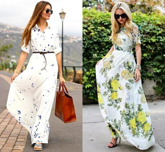 robes-longues-été-longue-robe-d-été-tenue-du-jour-robe-maxi-blanche-fleurs