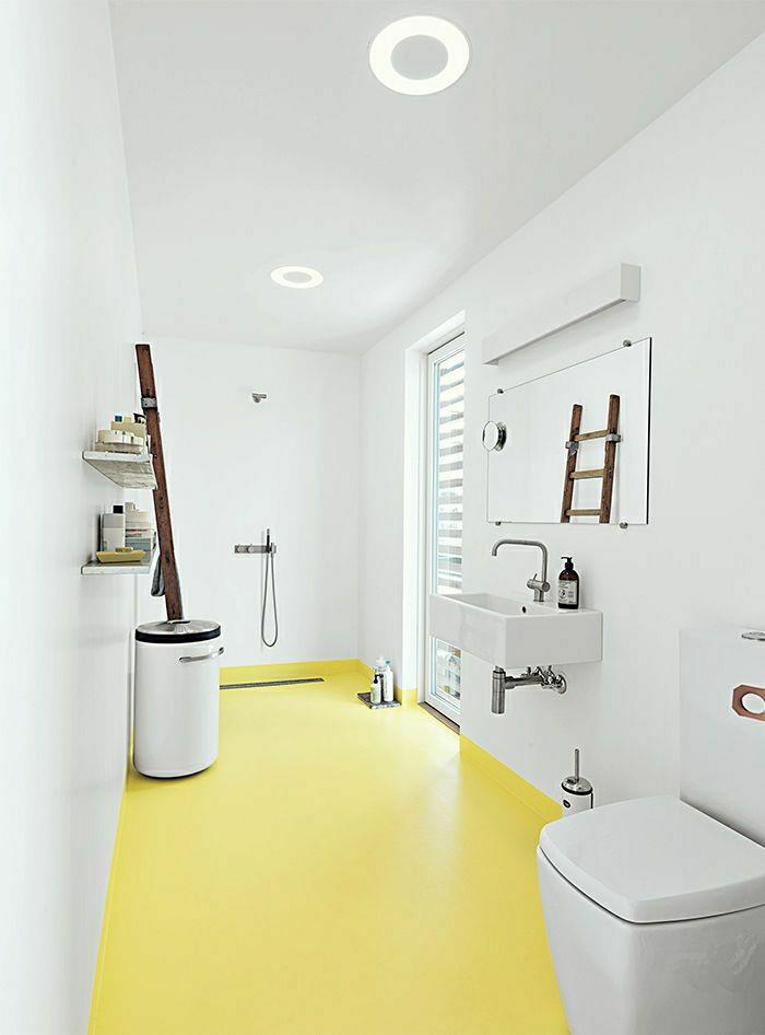 Adopter la couleur pastel pour la maison for Couleur mur salle de bain