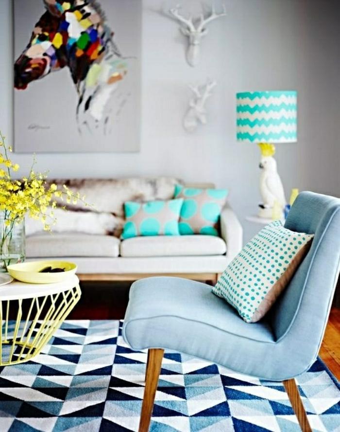 salon-de-couleur-pastel-dessin-pastel-tapis-blanc-bleu-table-de-salon-basse