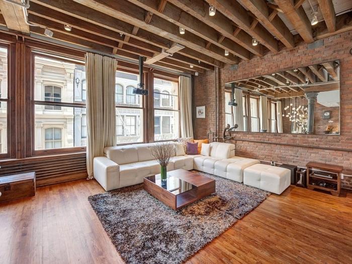 salon-deco-amenagement-new-yorkais-tapis-canapé