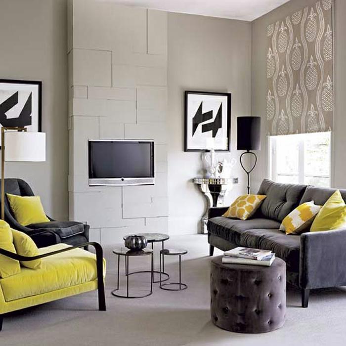 salon-deco-décorer-son-salon-gris-et-jaun-moderne-sofa-confortable-canapé