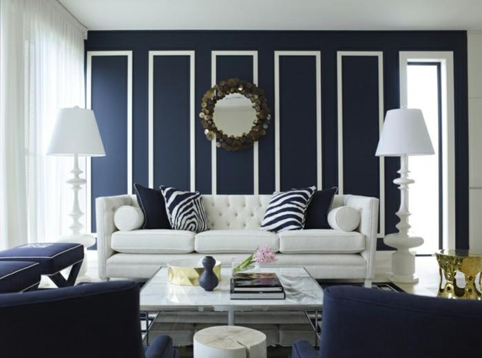 salon-decorer-son-salon-idée-décoration-en-bleu-foncé