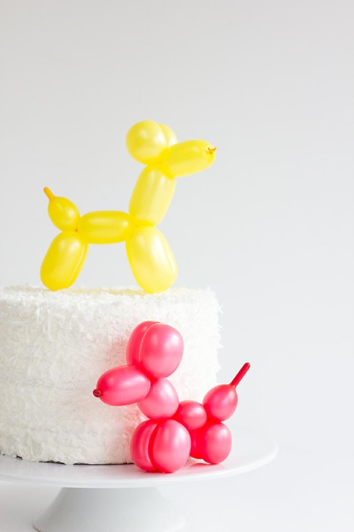 sculpture-ballon-facile-idée-originale-chiens