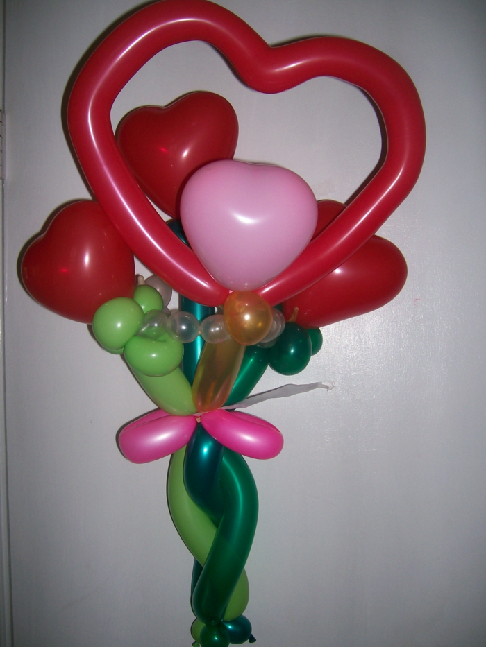 sculpture-ballon-facile-idée-originale-fleurs