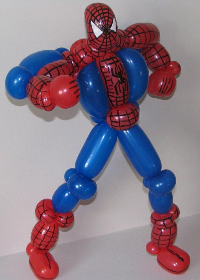 sculpture-de-ballon-sculpture-sur-ballon-spiderman