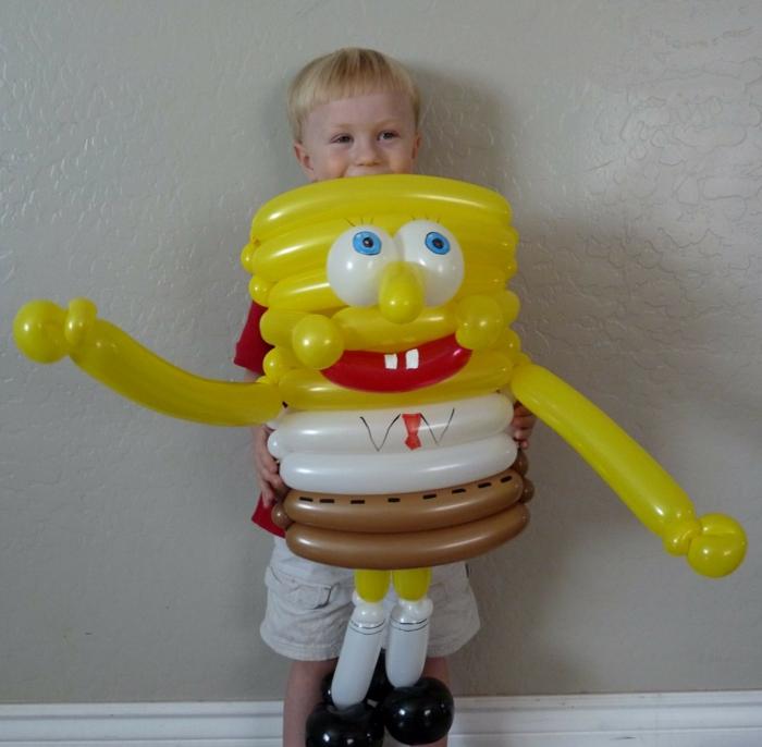sculptures-sur-ballons-idée-créative-spongebob