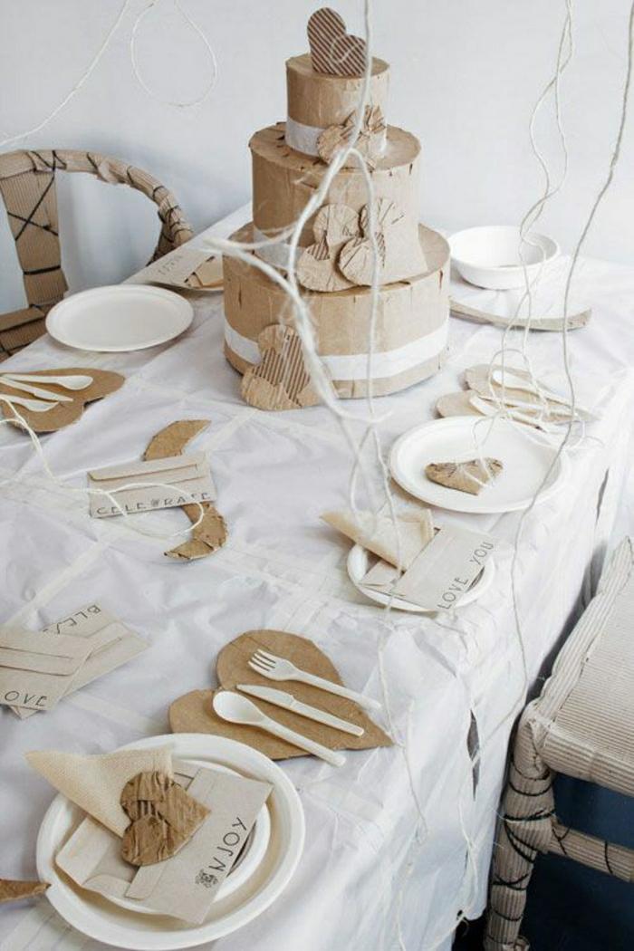 Charming Amenager Son Studio 20M2 #13: Set-de-table-en-papier ...