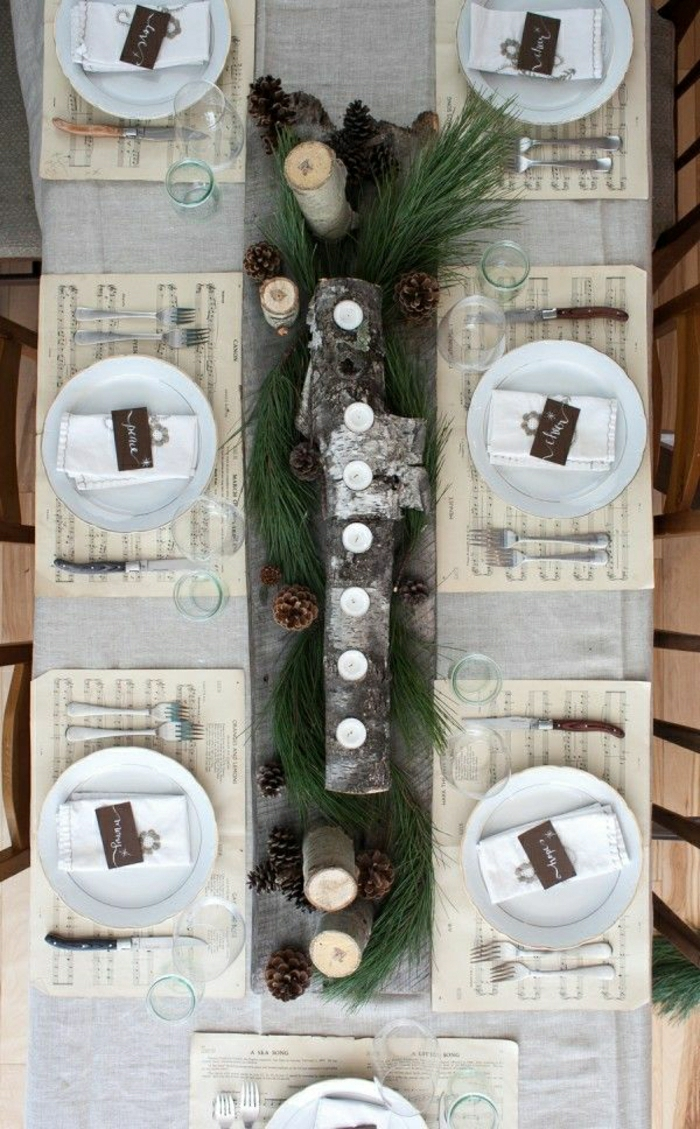 set-de-table-en-papier-set-de-table-jetable-nappe-gris-décoration-de-table