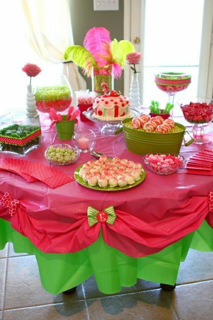 set-de-table-jetable-set-de-table-en-papier-coloré-rose-vert-nappe-papier