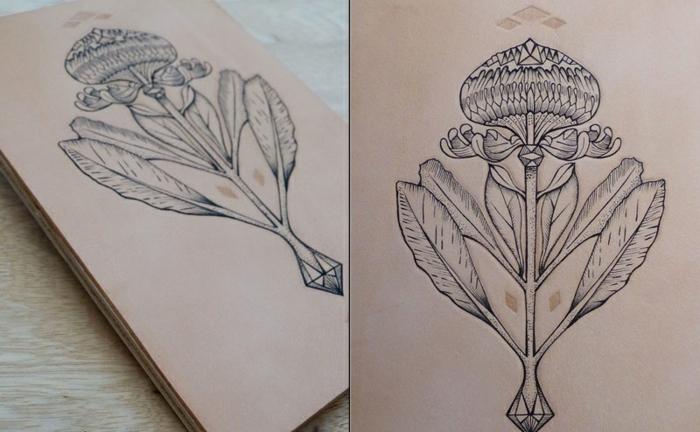signification-de-tatouage-symbolique-du-triangle-oiseau-fleurs
