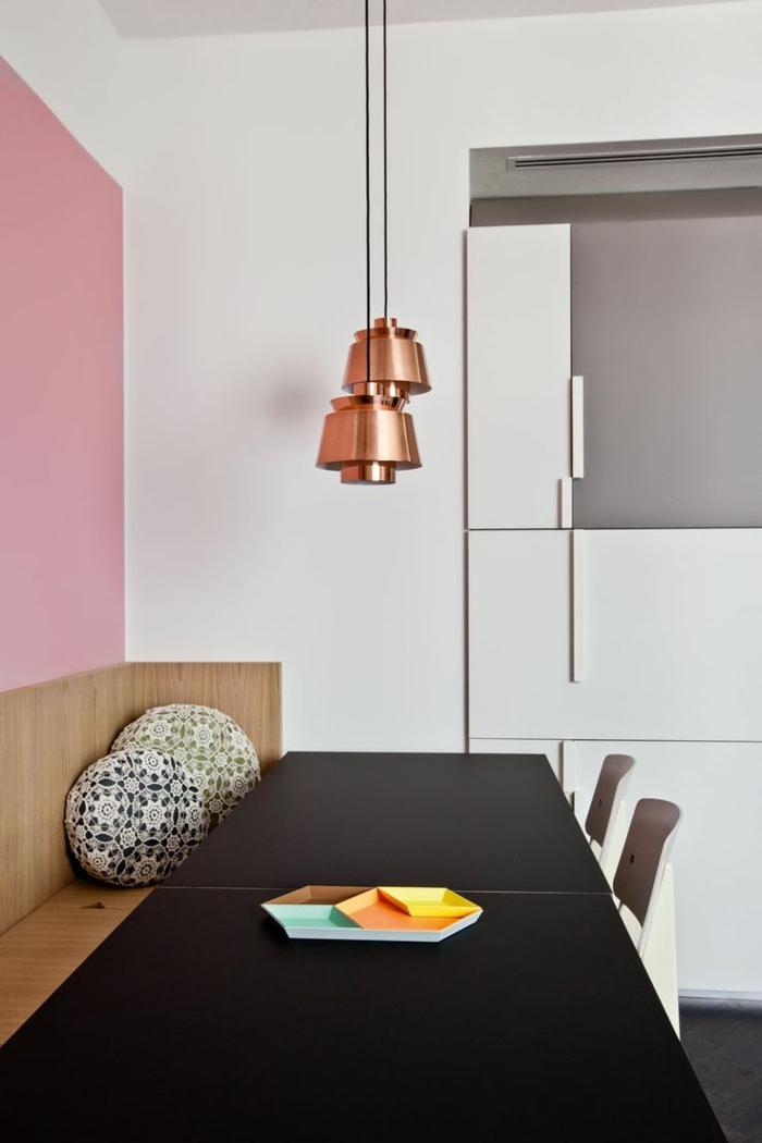 la suspension cuivre un beau accent pour chaque int rieur. Black Bedroom Furniture Sets. Home Design Ideas