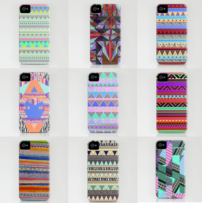 téléphone-mobile-le-coque-iphone-5s-prints-tribel