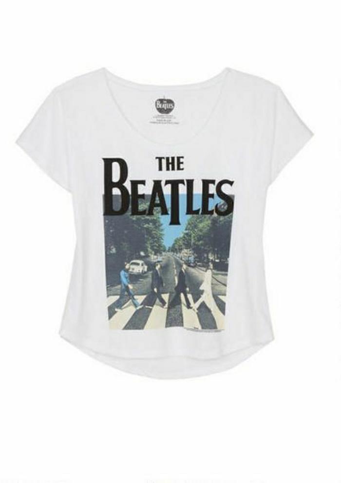 t-shirt-blanc-femme-t-shirt-personnalisable-t-shirt-personnalisé-moderne-beatles
