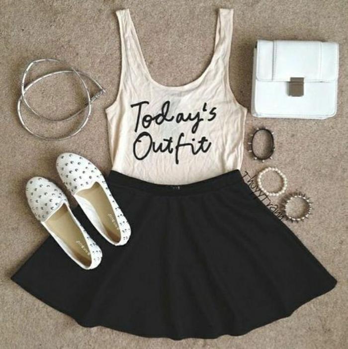 t-shirt-personnalisable-un-joli-tee-shirt-mode-tendance-2015-femme-moderne-blanc-noir