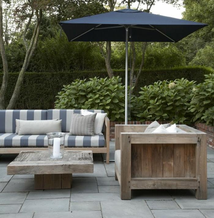 table-basse-de-jardin-parasol-rectangulaire-noir-pour-le-jardin-carrelage-de-jardin