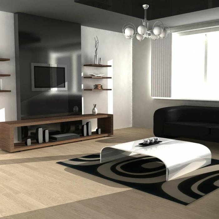 table-basse-industrielle-meuble-télé-moderne-tendance