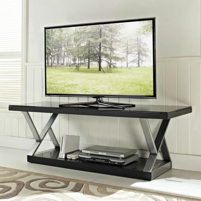 table-basse-industrielle-meuble-télé-originale-idée