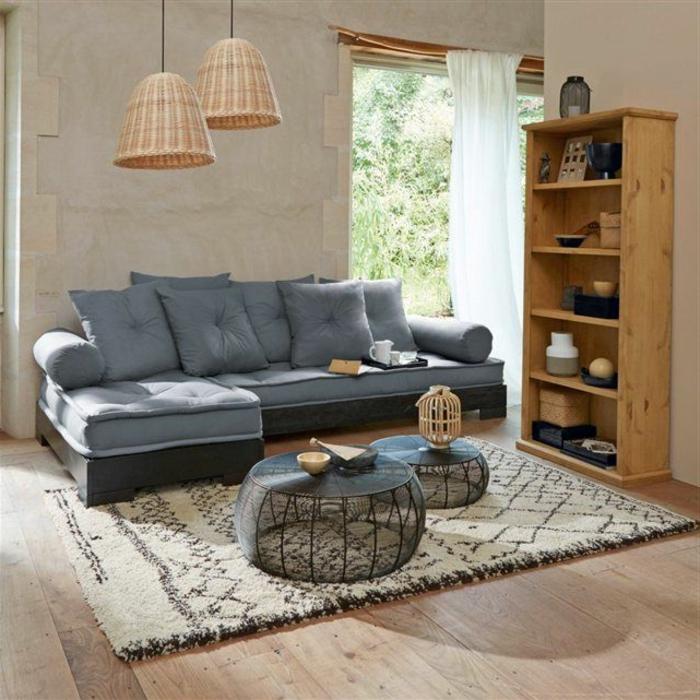 la table basse ronde est un l ment incontournable de l. Black Bedroom Furniture Sets. Home Design Ideas