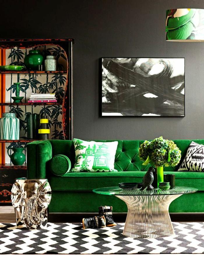 table-basse-ronde-prints-et-couleurs-remarquables