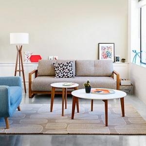 La table basse scandinave - simplicité et beau style