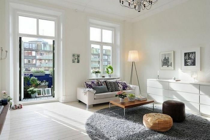 La table basse scandinave simplicit et beau style for Table sejour scandinave