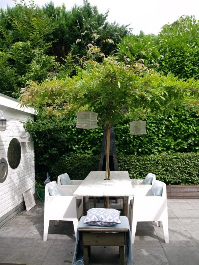 table-et-chaises-de-jardin-en-bois-ensemble-table-et-chaise-de-jardin-cour-moderne