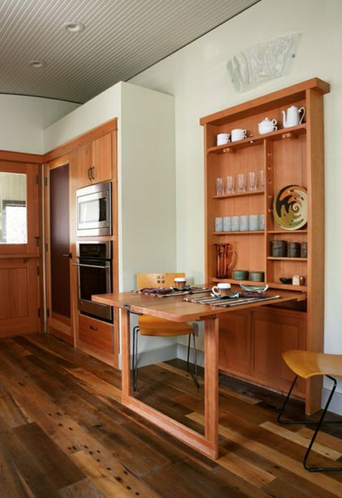 D couvrez la table pliante avec notre jolie galerie de photos for Table pliante petit espace