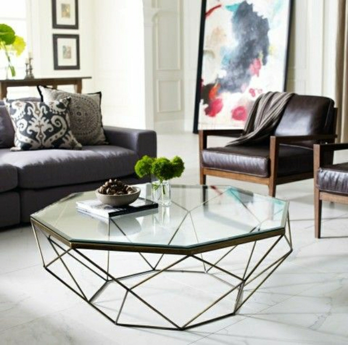 table-ronde-en-verre-plateau-de-table-en-verre-joli-salon-moderne