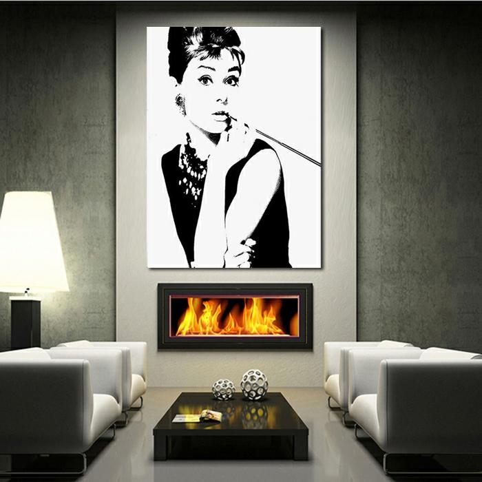 tableau-pop-art-audrey-hepburn-décoration-fantastique