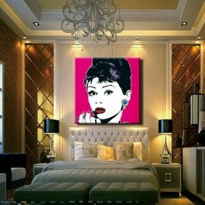 Le tableau pop art - tendance qui revient  à la mode!