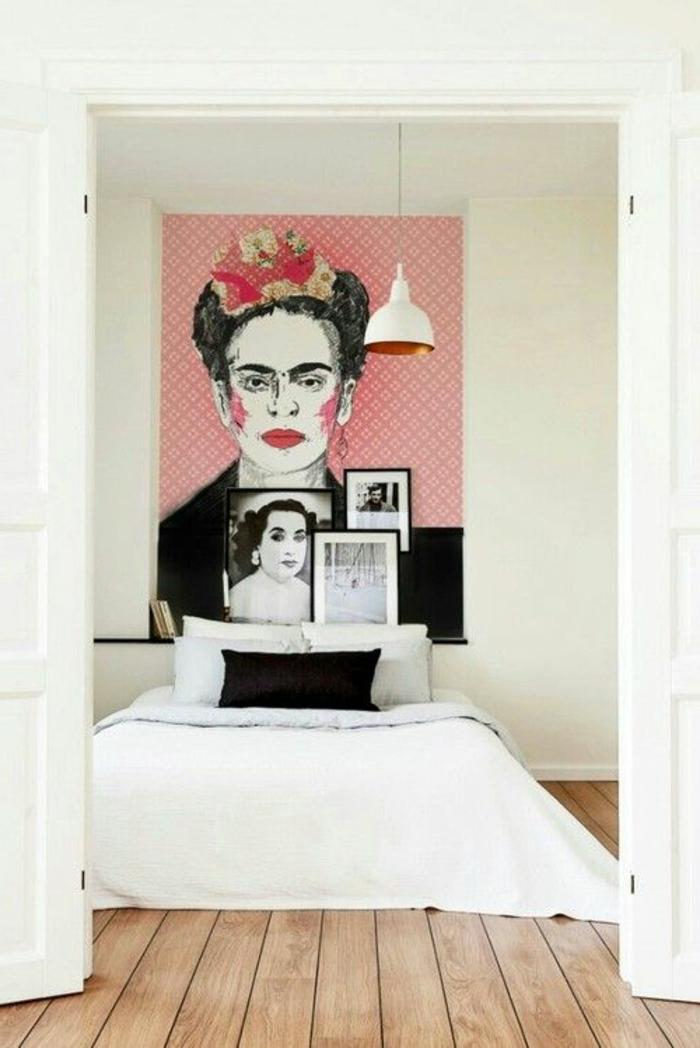 tableau-pop-art-extravagant-chambre-à-coucher