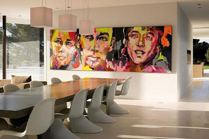 tableau-pop-art-grande-salle-de-déjeuner