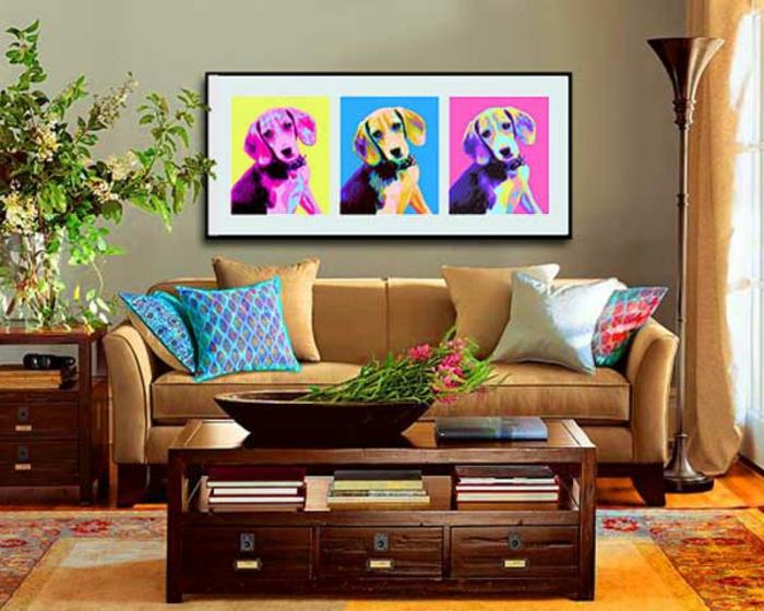 tableau-pop-art-peintures-pop-art-de-chien