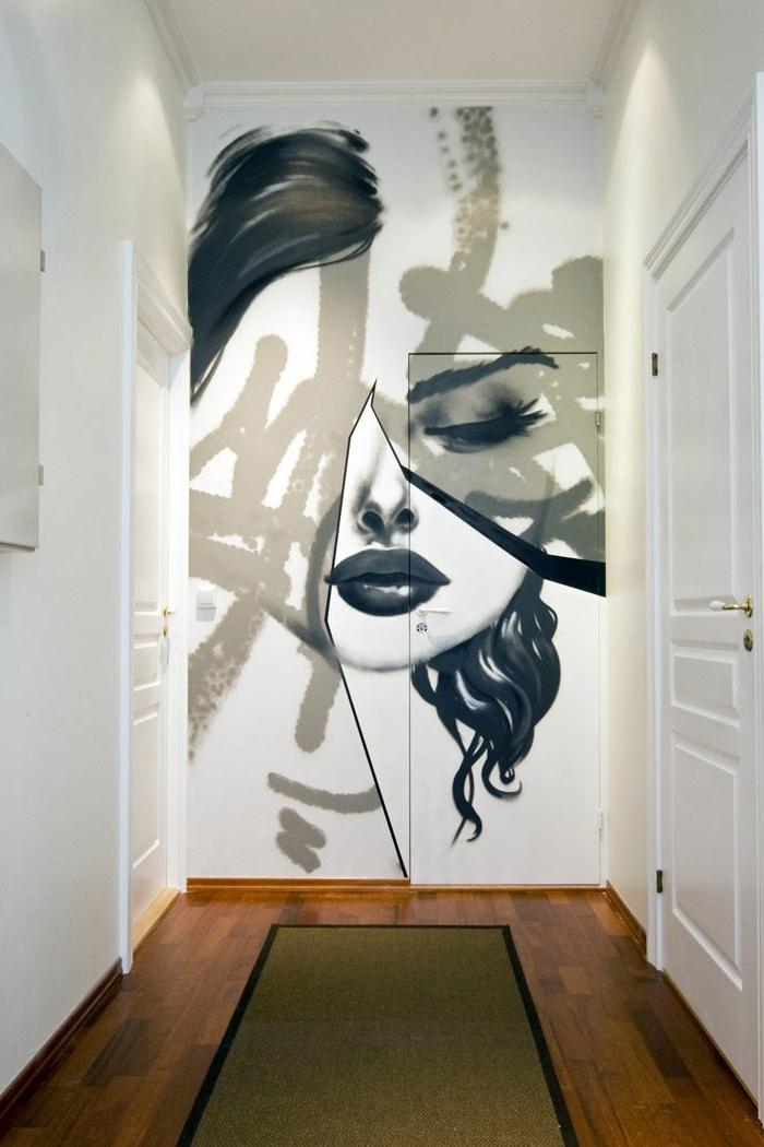 tableau-pop-art-pop-art-peinture-pour-l'entrée-blanche