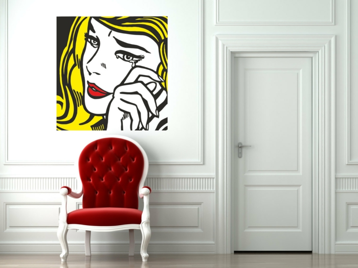 tableau-pop-art-sticker-mural-pop-art