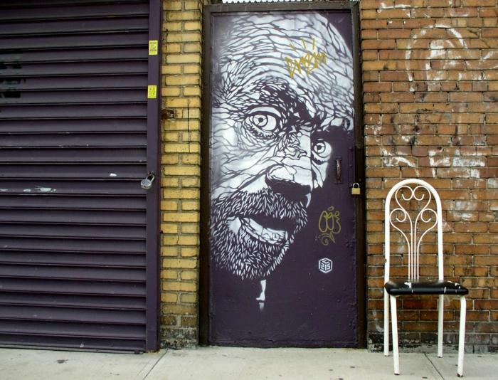 Art urbain C215 street artiste