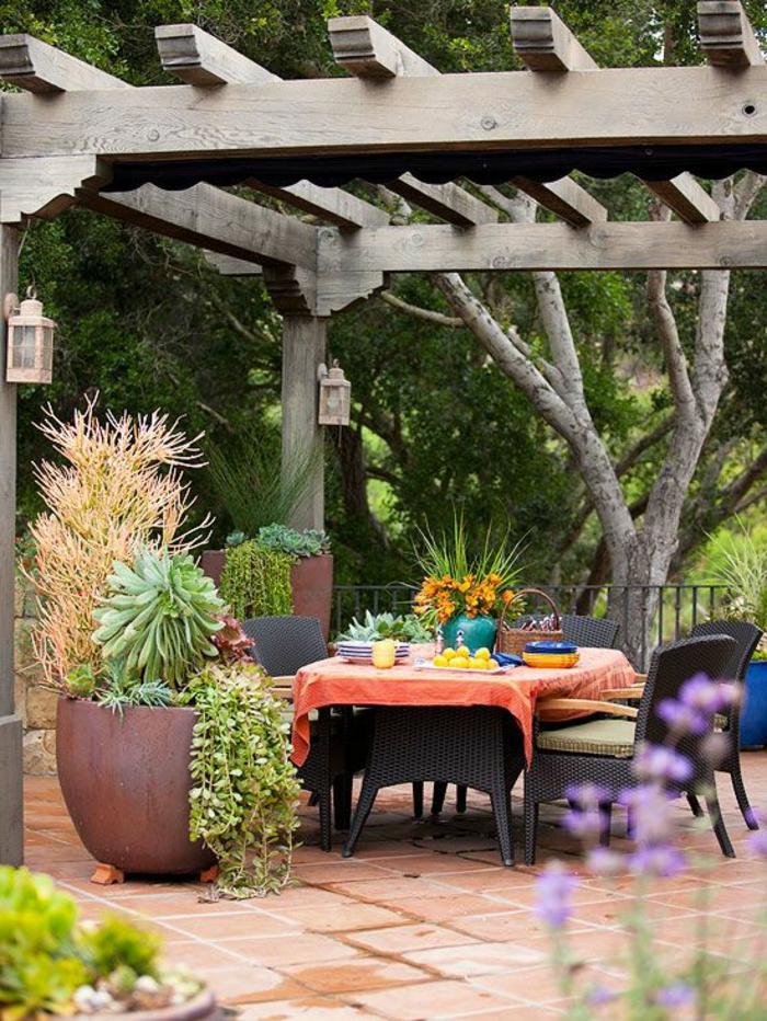 Comment choisir une table et chaises de jardin - Table jardin moderne dijon ...