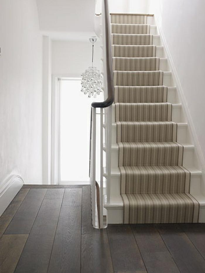 Le tapis pour escalier en 52 photos inspirantes for Couleur interieur maison moderne