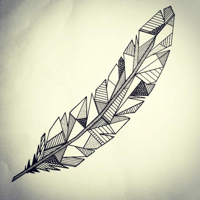tatouages g om triques belle id e ou tendance qui va s. Black Bedroom Furniture Sets. Home Design Ideas