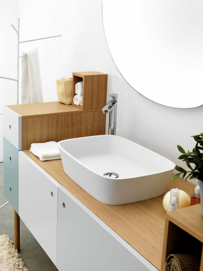 Le meuble sous lavabo - 60 idu00e9es cru00e9atives