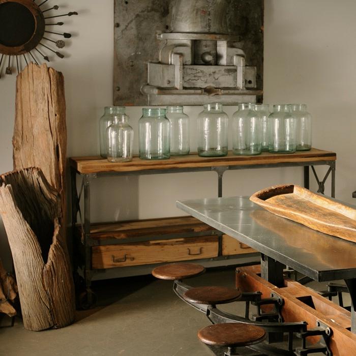 Le meuble tv style industriel en 50 images - Renover un meuble industriel ...