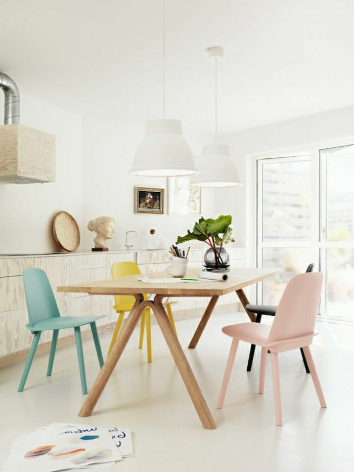 une-belle-cuisine-de-couleur-pastel-meubles-de-cuisine-pastel-dessin-chaise-de-cusine